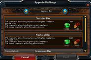 Upgrade Buildings interface