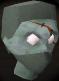 Zombie head barrelchest