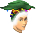 Christmas tree hat chathead