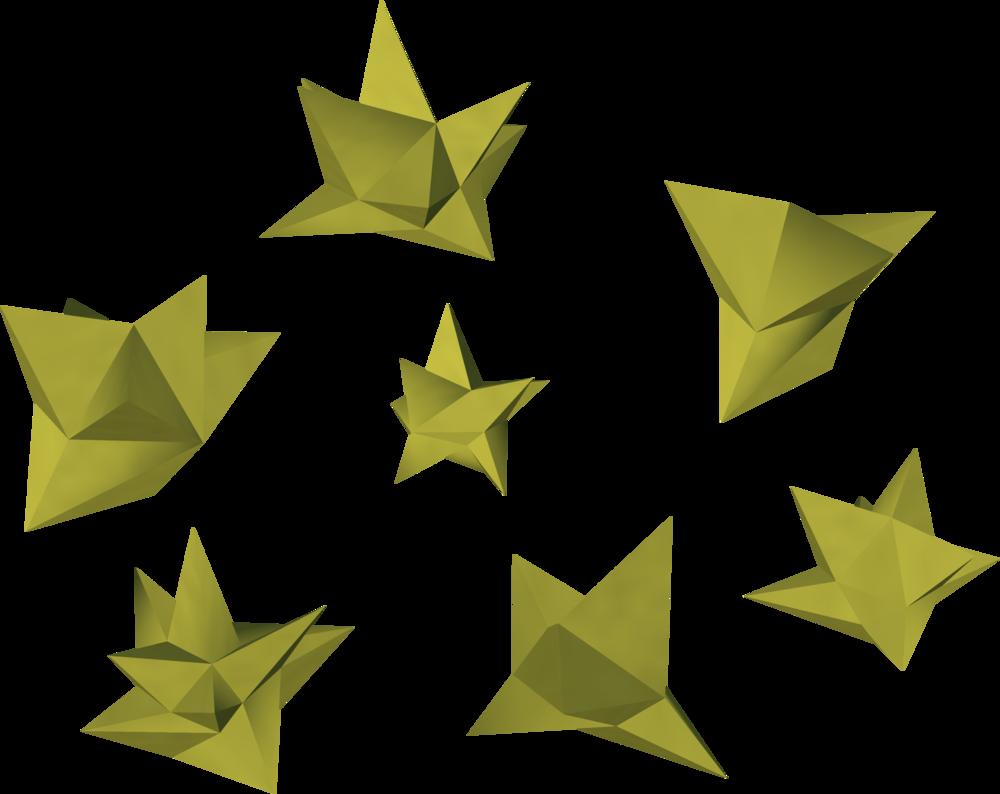 Stardust detail