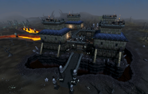 Dark Warriors' Fortress