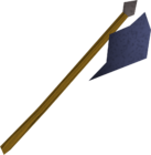 Mithril halberd detail old