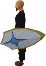 Falador shield 3 equipped