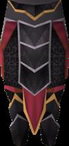 Black plateskirt (g) detail