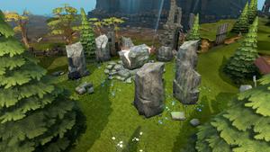 Mind Altar outside