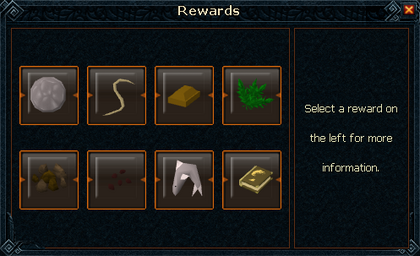 Temple trekking reward interface