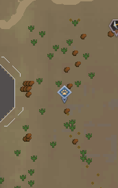 Uzer Hunter area map