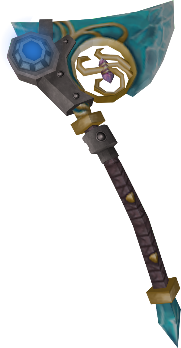 how to take crystal hatchet out of toolbelt