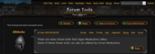 Jagex Moderator forum tools