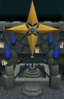 Saradomin altar