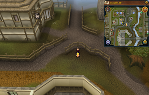 Scan clue East Ardougne north of Ardougne Castle