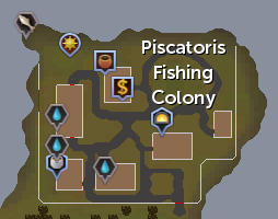 Piscatoris Fishing Colony map
