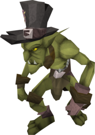 Goblin mail equipped