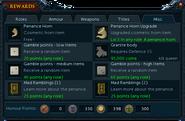 Barbarian Assault rewards interface (Misc)