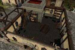Brian's Battleaxe Bazaar interior