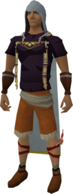 Runecrafting hood equipped