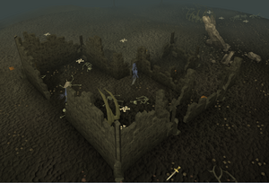 Wilderness ruins