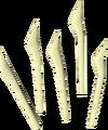 Bone bolts detail