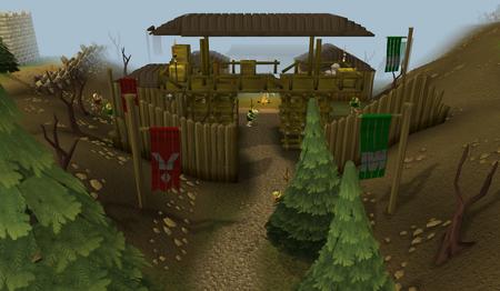 Goblin Village entrance old