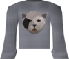 Bob shirt (black) detail