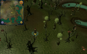 Scan clue Haunted Woods west of Port Phasmatys General Store