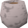 Silver pot detail