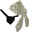 Bandana and eyepatch (white) detail