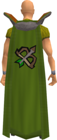 Retro ranged cape equipped
