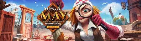 Mega May head banner