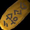 Gold seal detail