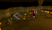 Karamja Volcano Resource Dungeon entrance