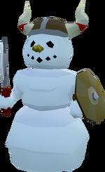 Snowman - Barbarian