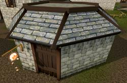 Aubury's Rune Shop exterior