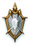 Diamond poll icon