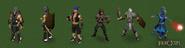 Evolution of combat hint