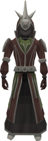 Runic robes equipped