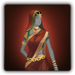 Silken outfit icon (female)