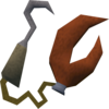 Crabclaw and hook detail