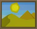 The desert built