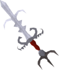Zamorak godsword detail old
