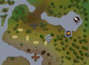 Karamja Hunter area map