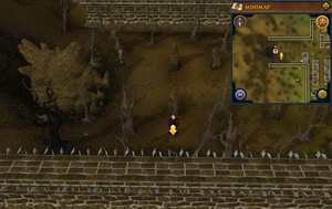 Scan clue West Ardougne outside Underground Pass entrance
