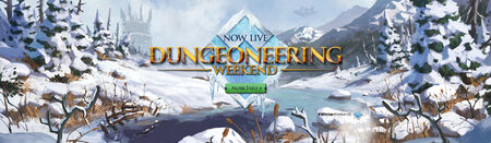 Dungeoneering Winter Weekend head banner