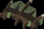 Gallimastyx hide detail