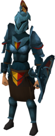 Rune heraldic armour set 5 (sk) equipped