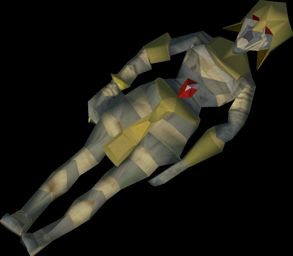 Senliten's mummy detail