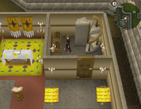 Cryptic clue Varrock church