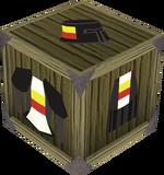 Black heraldic armour set 2 (sk) detail