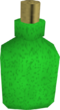 Green dye detail