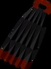 Obsidian cape detail